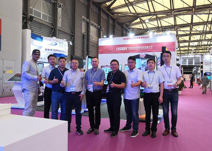 优色专显亮相2019第十四届上海国际LED展