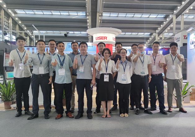 优色专显亮相第八届中国电子信息博览会