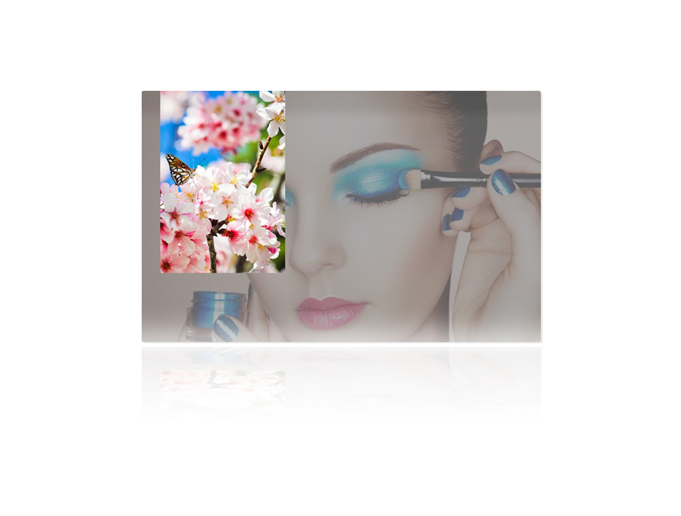 镜面液晶广告机-双面液晶广告机厂家