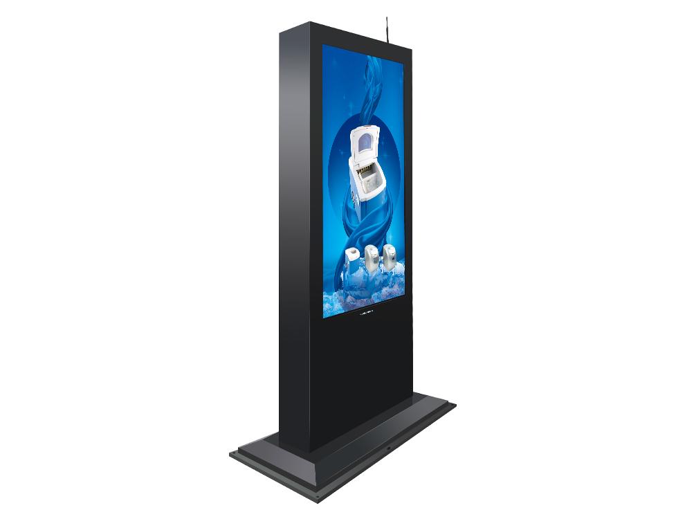 室内广告机跟户外广告机有什么区别?